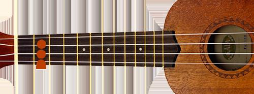 D-majeur-ukulele