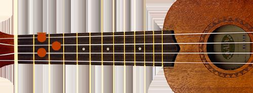 G-majeur-ukulele